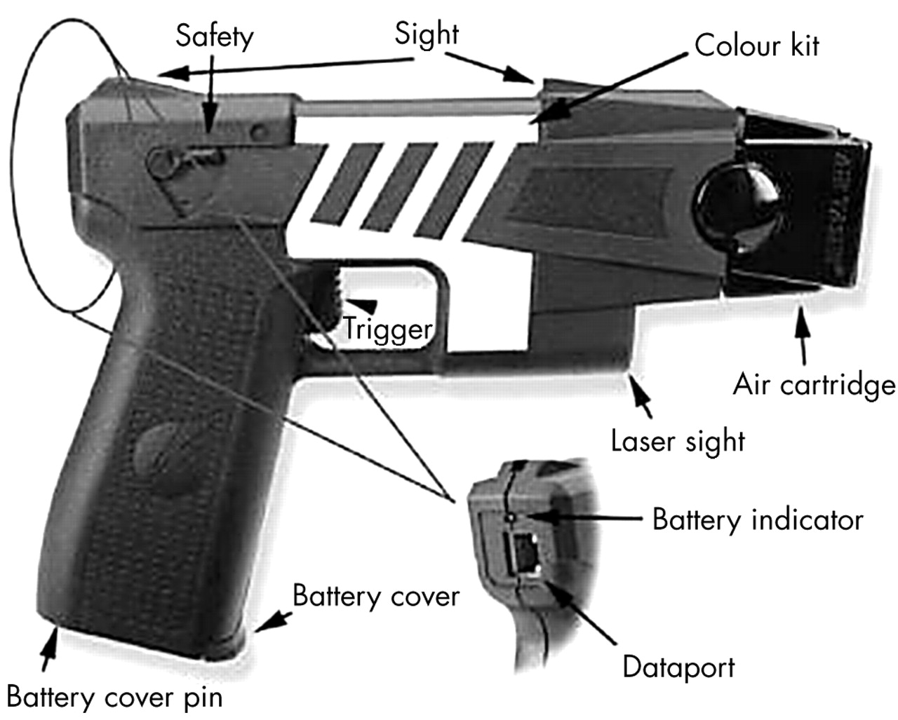 how to say taser in chinese
