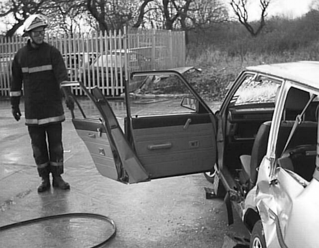 Extrication of the seriously injured road crash victim