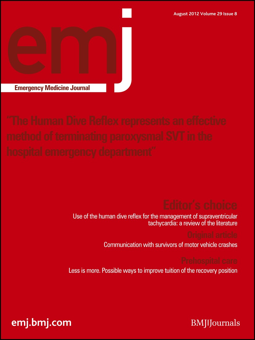 Highlights from the literature | Emergency Medicine Journal