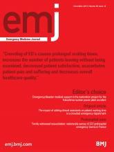 Emergency Medicine Journal: 30 (12)