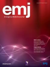 Emergency Medicine Journal: 31 (1)