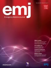 Emergency Medicine Journal: 31 (11)