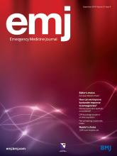 Emergency Medicine Journal: 31 (9)