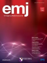 Emergency Medicine Journal: 33 (1)