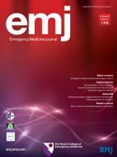 Emergency Medicine Journal: 33 (9)