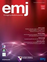 Emergency Medicine Journal: 35 (11)