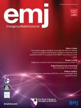 Emergency Medicine Journal: 38 (2)