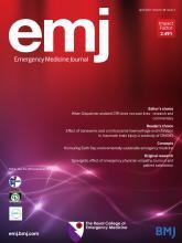 Emergency Medicine Journal: 38 (4)